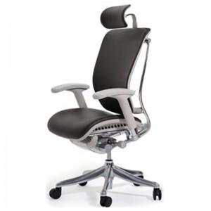 Эргономичное кожаное компьютерное кресло Expert  Spring Leather SPL-01G