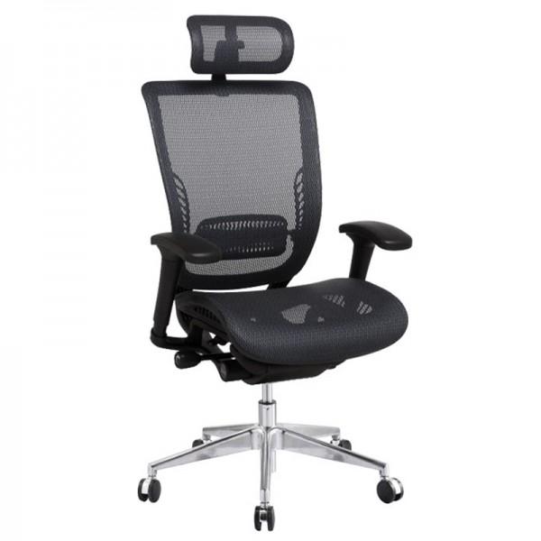 Эргономичное компьютерное кресло Expert Spark SPR-01 (черное)