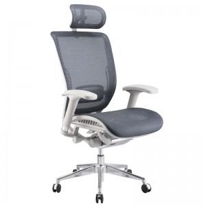 Эргономичное компьютерное кресло Expert Spark SPR-01G (серое)