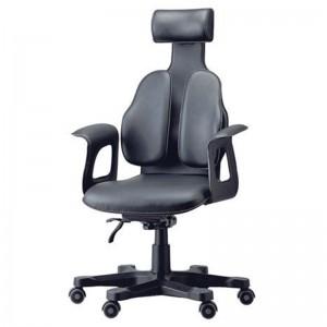 Ортопедическое кожаное кресло для руководителя DUOREST Cabinet DR-120