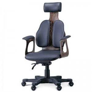 Ортопедическое кожаное кресло для руководителя DUOREST Cabinet  DR-130