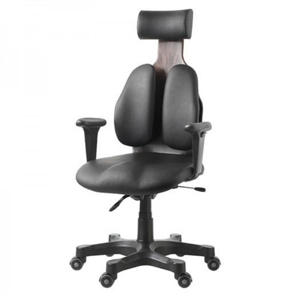 Ортопедическое кожаное кресло для руководителя DUOREST Cabinet  DR-140