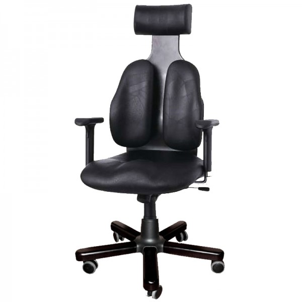 Ортопедическое кожаное кресло для руководителя DUOREST Cabinet  DW-140