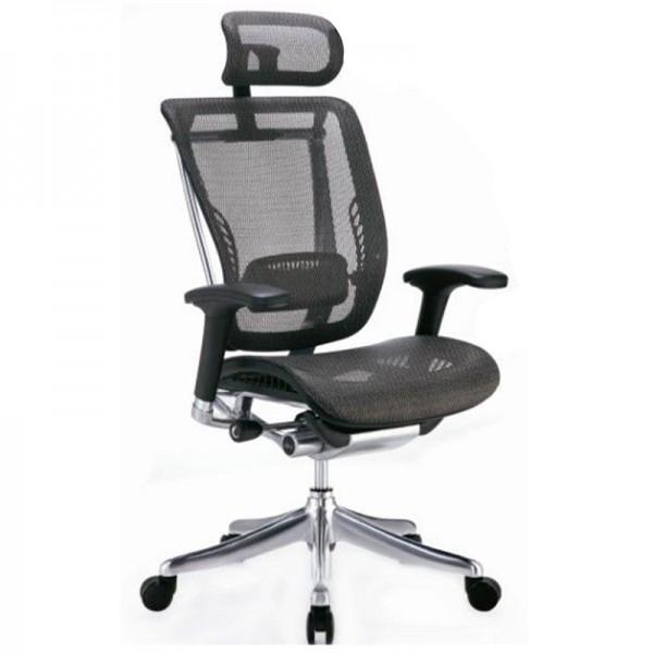 Эргономичное компьютерное кресло Expert  Spring SP-01 (черное)
