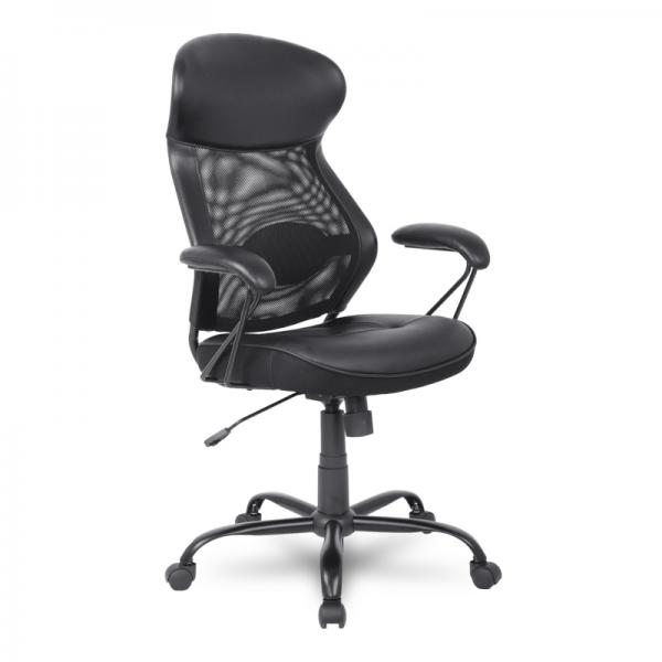 Эргономичное кресло College HLC-370 Black