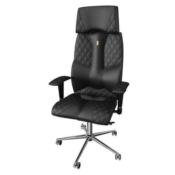Эргономичное дизайнерское кресло Business Black
