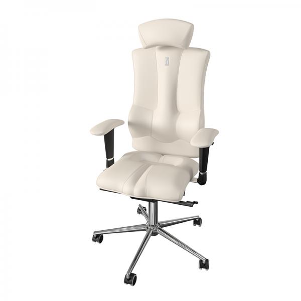 Эргономичное дизайнерское кресло Elegance White