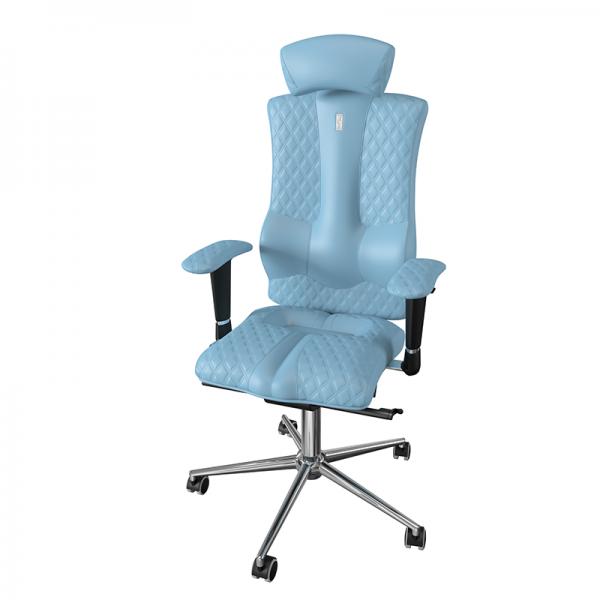 Эргономичное дизайнерское кресло Elegance Light Blue