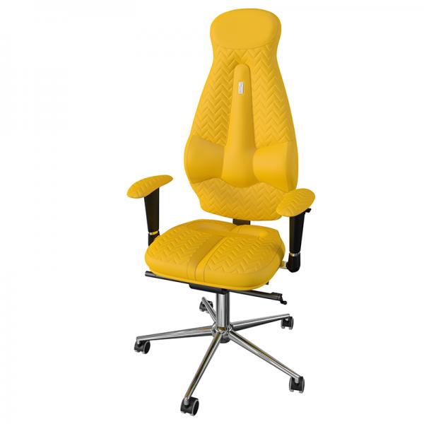 Эргономичное дизайнерское кресло Galaxy Yellow