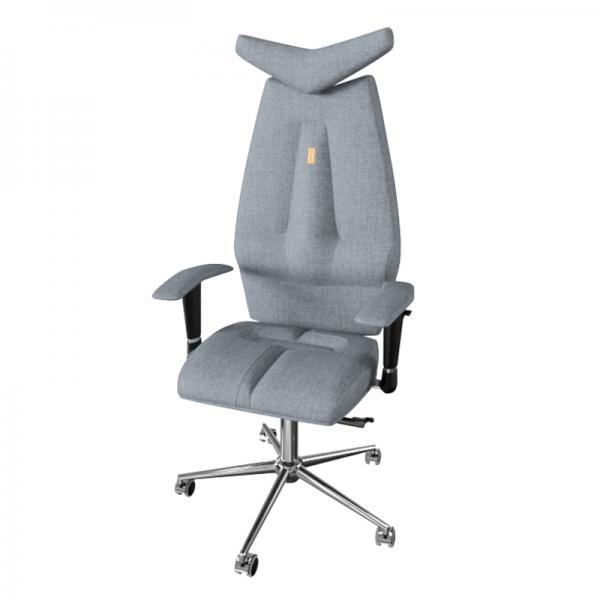 Эргономичное дизайнерское кресло Jet Silver