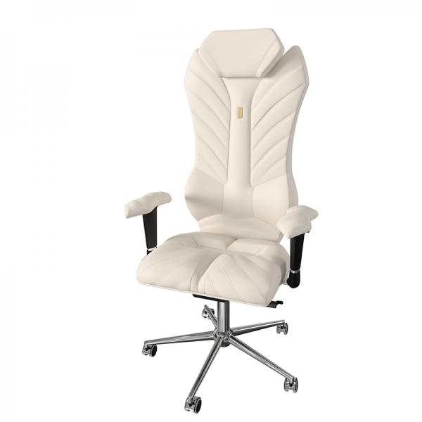 Эргономичное дизайнерское кресло Monarch White