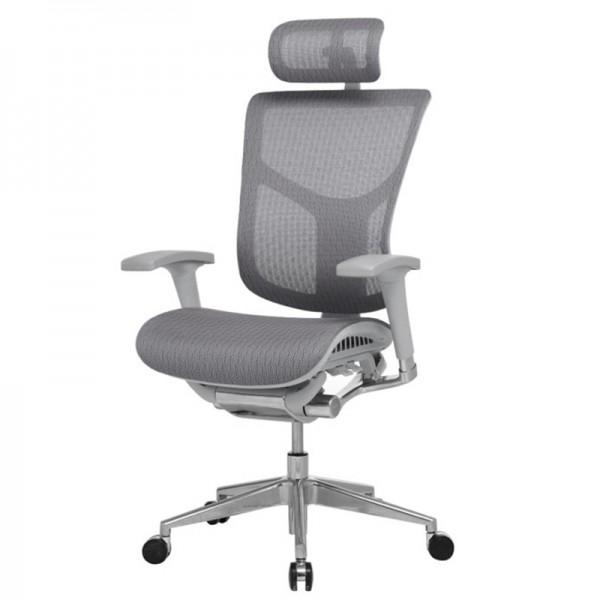 Эргономичное  компьютерное кресло Expert Star HSTM-01G (серое)