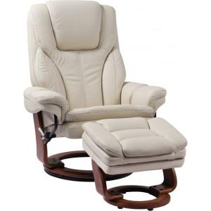 Кожаное кресло-реклайнер RELAX Hana