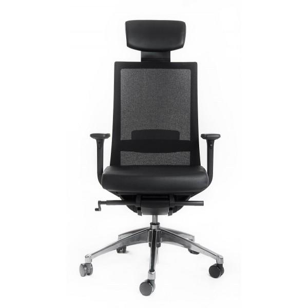 Эргономичное офисное кресло Falto А1 (черный/хром)