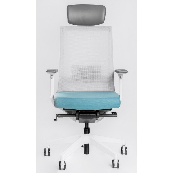 Эргономичное офисное кресло Falto А1 белый