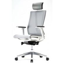 Эргономичное офисное кресло Falto G1 Air с белым каркасом