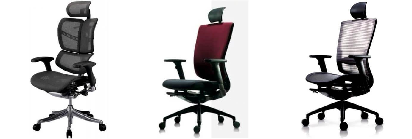 Компьютерные эргономичные кресла DUOREST Duoflex